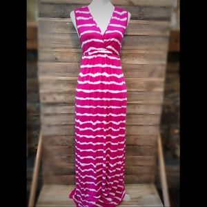 Michael Kors tie dye Maxi dress